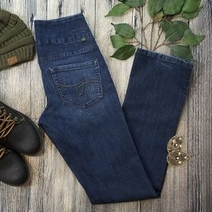 Jag Jeans High Rise Boot Leg Pull On Jeans